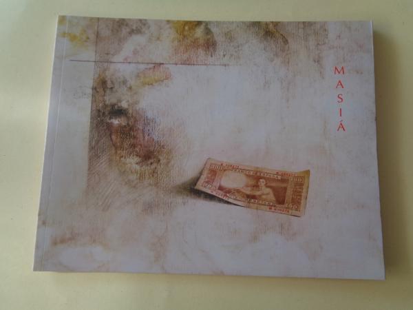 RAFAEL ROMERO MASIÁ. Catálogo Exposición. Galería Ceferino Navarro. Granada, 2006