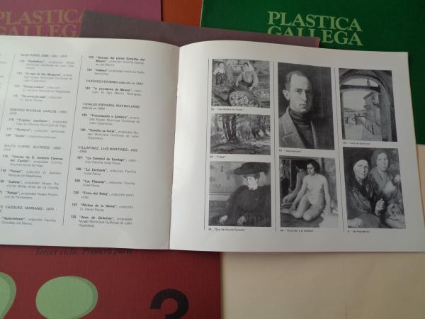Plástica Gallega. Pintura, dibujo y escultura. 7 catálogos