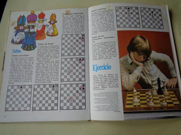 Quiero aprender ajedrez (Ilustrado por Tony Street)