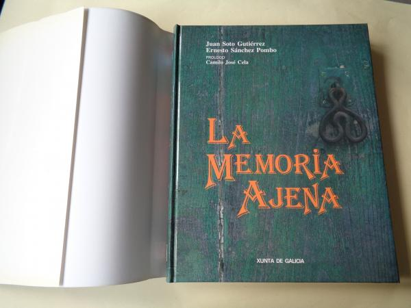 La memoria ajena (Fotografías en color + textos en castellano)