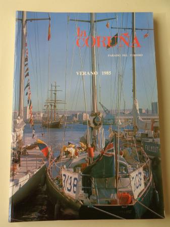 LA CORUÑA PARAISO DEL TURISMO. Verano 1985. Publicación anual