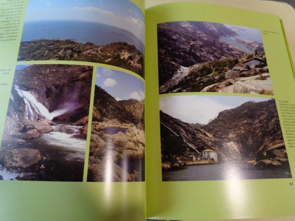 Espazo naturais. 4 tomos. A Coruña - Lugo - Ourense- Pontevedra