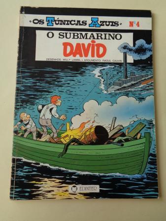 O submarino David. Os Túnicas Azuis, nº 4 (En portugués)