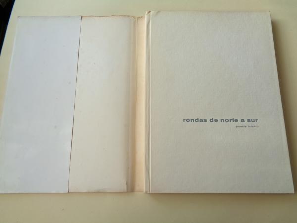 Rondas de Norte a Sur (en castellano) / Versos prós nenos da aldea (en galego) (Dibujos de Jaime Quesada).