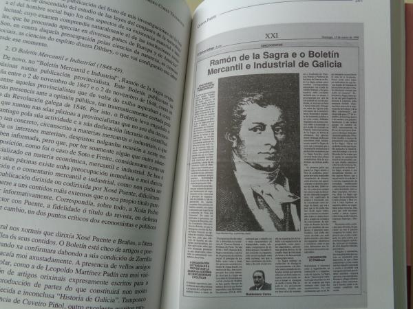 Ramón de la Sagra e Galicia