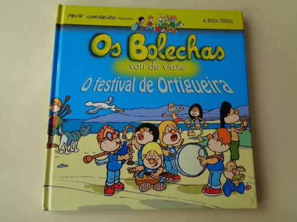 Os Bolechas van de viaxe. O festival de Ortigueira