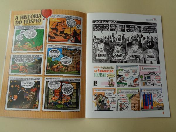 RETRANCA. Revista mensual de humor galego, nº 1. Novembro, 2007