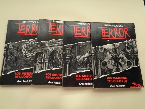 BIBLIOTECA DEL TERROR. Números 91-92-93-94