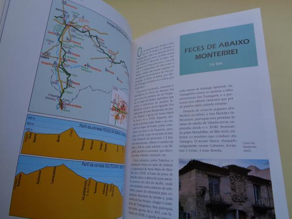 Camiños Portugueses de Peregrinación a Santiago. Tramos galegos