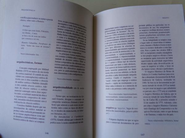 Diccionario de termos literarios a-d (En galego)