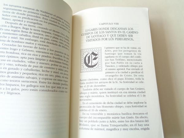Ruta del viajero medieval. Códice Calixtino