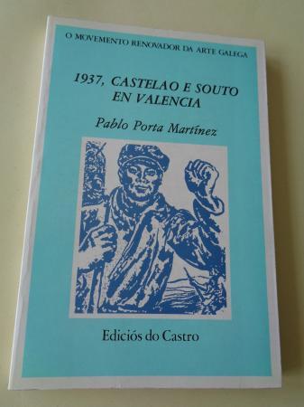1937, Castelao e Souto en Valencia