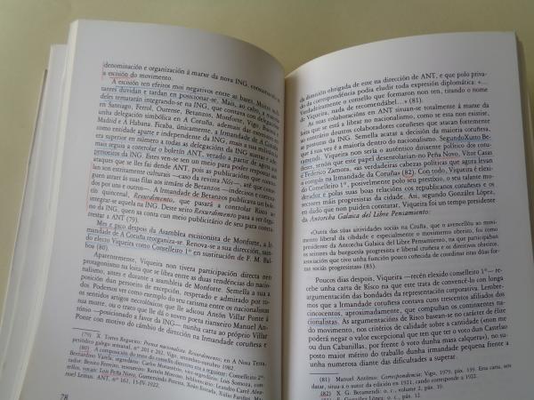 Xoan Vicente Viqueira e o nacionalismo galego