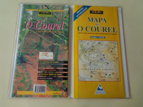 O Courel. A serra das aldeas de lousa. Guía e mapa Escala 1: 50.000
