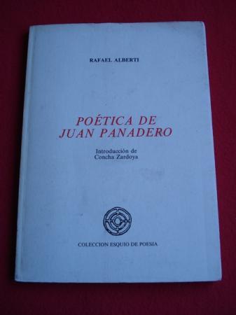 Poética de Juan Panadero