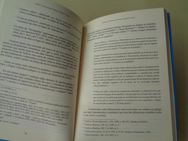 Relatos e outras prosas de Roque Pesqueira Crespo