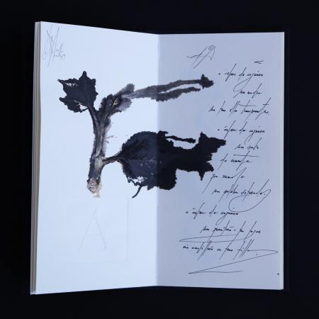A árbore da cegueira | 2020. Libro de artista de exemplar único