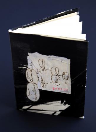 Monólogo do calígrafo   2015 Libro de artista de exemplar único