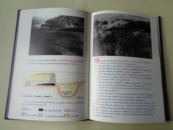 Excavaciones en el castro céltico de Baroña