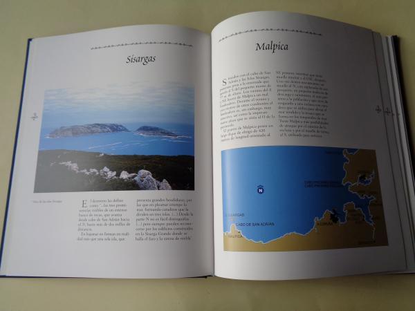 Portos de Galicia desde Monte Louro a Ribadeo (Texto en español)