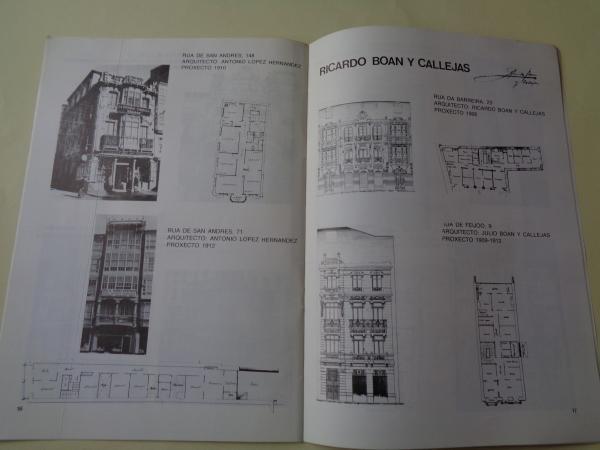 Arquitectura modernista. A Coruña, 1900-1914