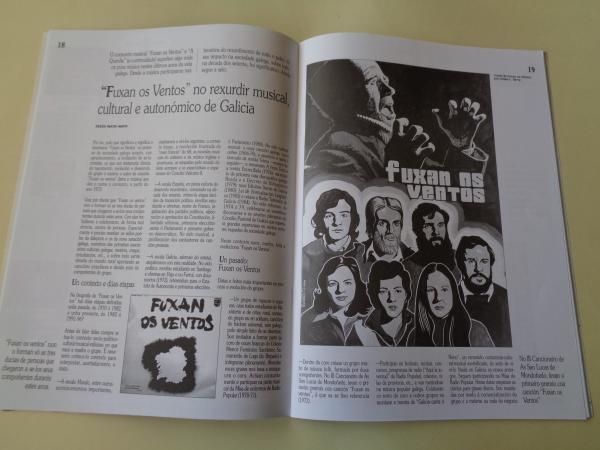 Cancións para todos nós. Crónicas de 30 anos de música galega. Cadernos A Nosa Terra de Pensamento e Cultura. Nº 22