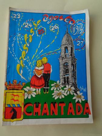Programa Fiestas de Agosto Chantada (Lugo) 1974