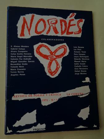 NORDÉS. Revista de poesía y crítica. Nº 1 - La Coruña, 1975