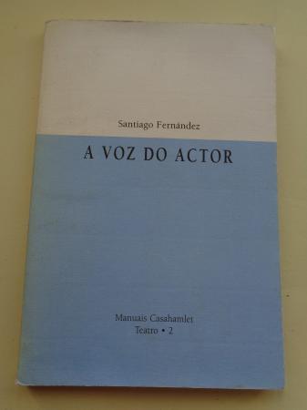 A voz do actor