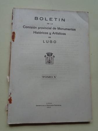 Boletín de la Comisión Provincial de Monumentos Históricos y Artísticos de Lugo. Números 37 y 38, Primer y segundo trimestre de 1952