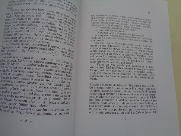 Homenaxe a Francisca Herrera Garrido. Día das Letras Galegas 1987. Edicción facsímile de Martes d´antroido - A y-alma de Mingos - A neta da naipeira
