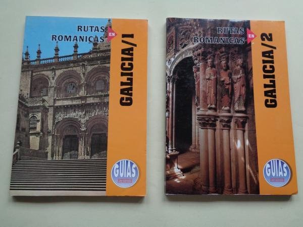 Rutas románicas en Galicia. Tomos 1 y 2