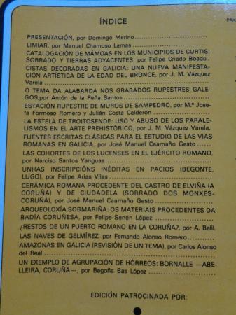 BRIGANTIUM. Boletín do Museo Arqueolóxico e Histórico de A Coruña. Volume 1, ano 1980