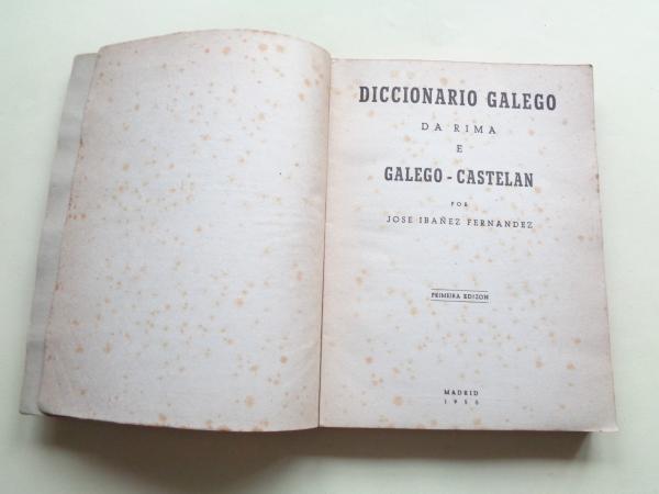Diccionario galego da rima e Galego-Castelán