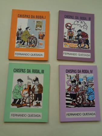 Chispas da roda I, II, III e IV (4 libros)