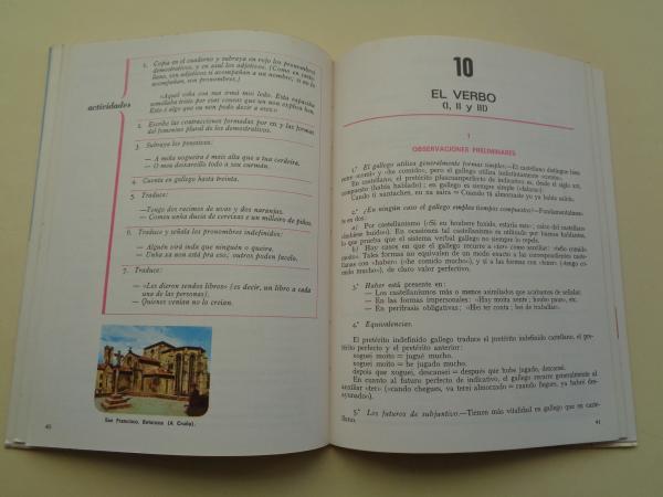 O galego na escola (Textos das explicacións en castelán)
