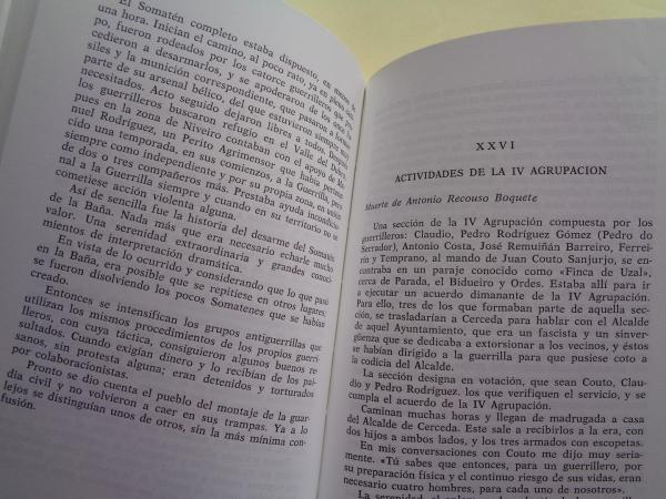 Síndrome del 36. La IV Agrupación del Ejército Guerrillero de Galicia