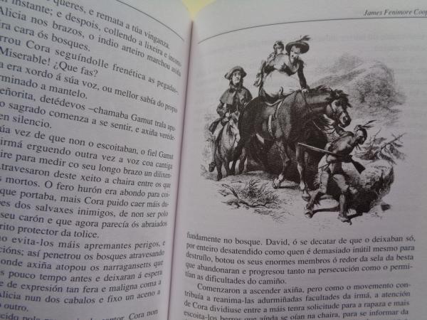 O derradeiro do mohicanos (Traducido por Xela Arias)