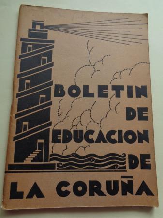 Boletín de educación de La Coruña, Nº 8-10, abril-junio, 1935