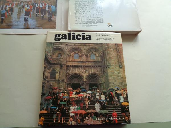 Galicia. Librodisco (Libro + disco de 33 rpm) con estuche. Textos en francés