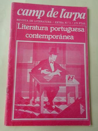 Camp de l´arpa. Revista de literatura. Extra nº 1. Junio 1981: Literatura portuguesa contemporánea