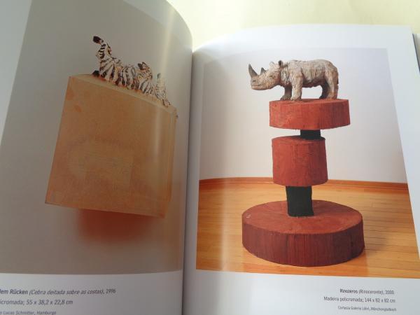 STEPHAN BALKENHOL. Catálogo Exposición, CGAC, Santiago de Compostela, 2001. (Textos en galego - castellano- english)