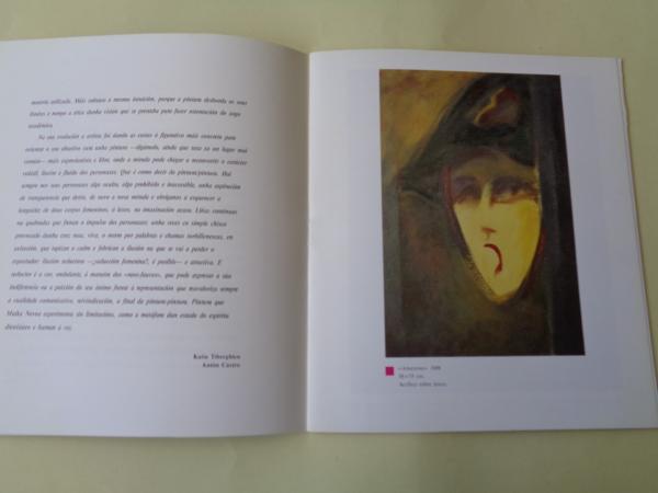 MAIKA NOVOA. Catálogo exposición Casa da Parra, Santiago de Compostela 1988