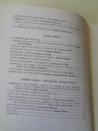 Cuadernos Ateneo Ferrolán. Ano III. Nº II. Nadal 1983. Rafael Dieste- Luis Seoane-Lorenzo Varela