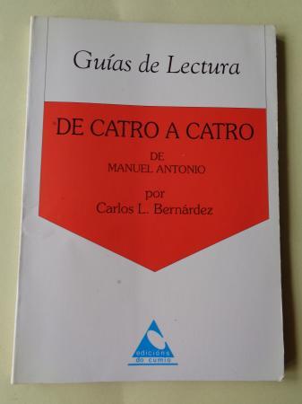De catro a catro de Manuel Antonio. Guía de lectura