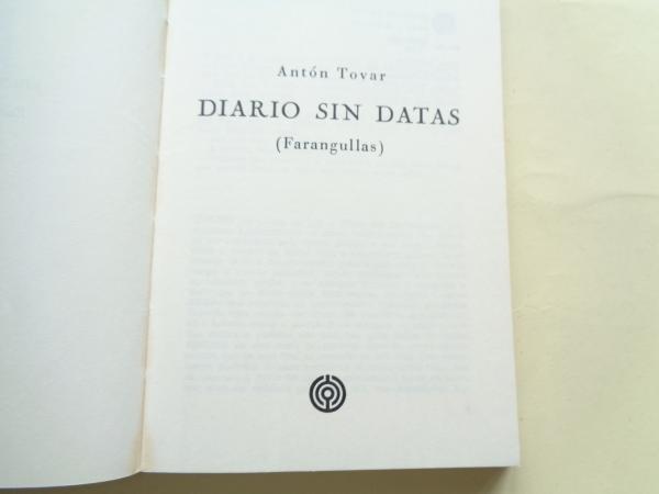 Diario sin datas (Farangullas)