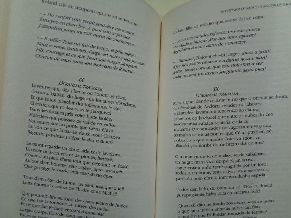 O reiciño de Galicia (Edición bilingüe francés-galego)