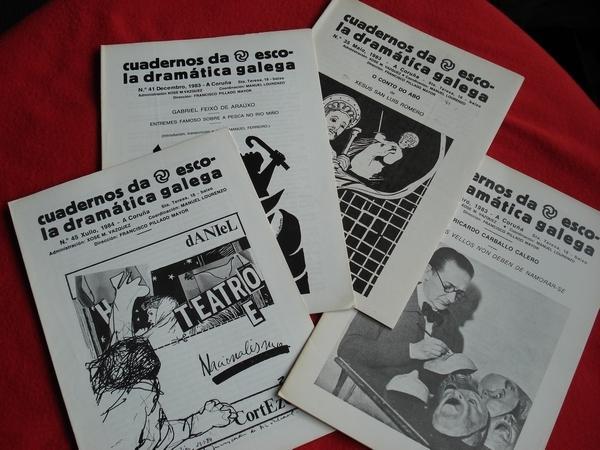 Cuadernos da Escola Dramática Galega. Números 33-35- 41-45