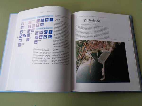 Portos de Galicia. 2 tomos: Desde a Guarda a Monte Louro / Desde Monte Louro a Ribadeo (Texto en español)