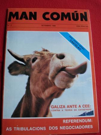 MAN COMÚN. Revista galega mensual de información xeral. Número 2- setembro 1980